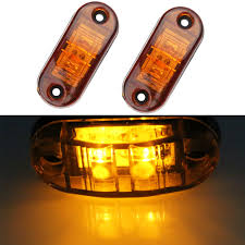 2pcs Red White 24v Led Side Marker Light For Truck Amber Clearance ... Led Clearance Marker Lights 4x Fender Bed Side Smoked Lens Amber Redfor Whdz 5pcs Yellow Cab Roof Top Running Everydayautopartscom Ford Bronco Ii Ranger Pickup Truck Set Of 2 X 24v 24 Volt Amber Orange Side Marker Light Position Truck Amazoncom Ijdmtoy Peterbilt Led Free Download Wiring Diagrams Lights Installed Finally Enthusiasts Forums Xprite Black Cab Over America On Twitter Trucking Hello From Httpstco