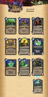 Murloc Deck Shaman Or Warlock by Visual Guide Of All The Cards From Mean Streets Of Gadgetzan