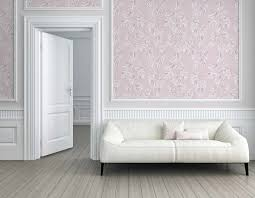 tapete vlies floral blätter rosa weiß 37281 1