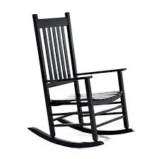 Amazon.com : Outsunny Porch Rocking Chair - Outdoor Patio Wooden ...