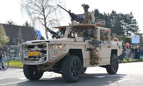 100 Dessa Dutch Army Commandos Of The KCT Parade Their New ATV The Vector