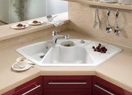 kitchen appliances drop in corner kitchen sink with single bowl