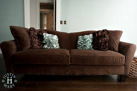 throw pillows chocolate brown couch perplexcitysentinel com