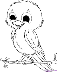Free Liltle Bird Coloring Pages
