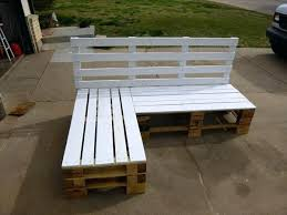 Diy Pallet Furniture Sectional Bench Rocking Chair Plans