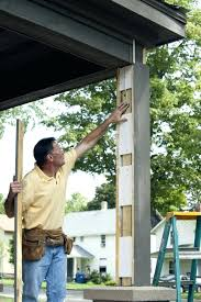 Deck Post Wraps Porch Column Wraps Deck Post Wrap Ideas