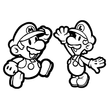 Back To Article Mario Coloring Pages For Your Little Boy