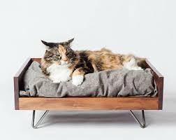 modern cat modern cat bed etsy