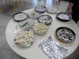 atelier cuisine maternelle du bleu du blanc de l argent en maternelle ecole louis cadoret