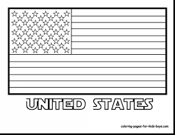 Terrific American Flag Coloring Pages Dr Odd With Page And