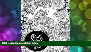 PDF FREE DOWNLOAD Birds Adult Coloring Book African Themed Large Stress Relieving Relaxing