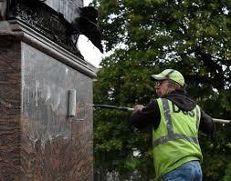 Christmas Tree Farms Albany County Ny by Albany Vietnam Memorial Defaced By Graffiti Times Union