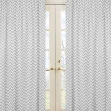 Grey And White Chevron Curtains by Buy Grey Curtain Panels From Bed Bath U0026 Beyond