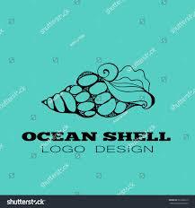 100 Sea Shell Design Ocean Logo Element Vector Stock Vector Royalty Free