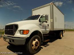 2000 Ford F650 Super Duty XL Box Truck | Item DA3067 | SOLD!...