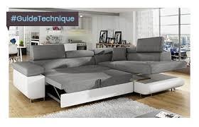 grand canapé guide technique canapé d angle sofamobili