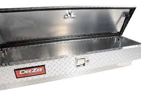 Diamond Plate Bed Rail Caps by Dee Zee Red Label Side Mount Tool Box Fast Shipping