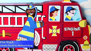 Fire Truck Chunky Puzzle By Melissa & Doug 3721 - YouTube Sound Puzzles Upc 0072076814 Mickey Fire Truck Station Set Upcitemdbcom Kelebihan Melissa Doug Around The Puzzle 736 On Sale And Trucks Ages Etsy 9 Pieces Multi 772003438 Chunky By 3721 Youtube Vehicles Soar Life Products Jigsaw In A Box Pinterest Small Knob Engine Single Replacement Piece Wooden Vehicle Around The Fire Station Sound Puzzle Fdny Shop