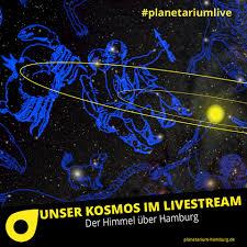 planetarium hamburg planetariumlive morgen bringen wir