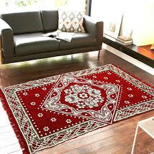 Chenille Carpet by Royal Decor Chenille Carpet Red Carpets Homeshop18
