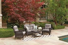 Walmart Canada Patio Covers by Hometrends Tuscany 4 Piece Conversation Set Walmart Canada