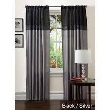 gray curtains ebay