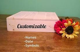 Custom Cake Stand Personalized Wedding