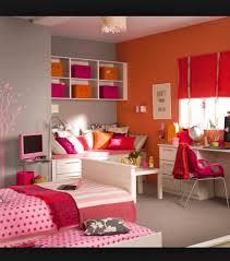 Image Of Teenage Girl Room Decor Red