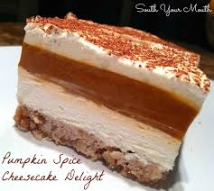 Pumpkin Cheesecake Layer Pie Recipe by South Your Mouth Pumpkin Spice Cheesecake Delight
