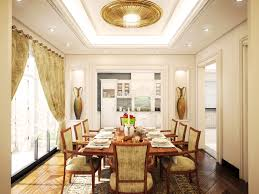 FEATURE DESIGN LUXURIOUS ROOM 3D ONLINE FREE FOR CLASSIC DINING INSPIRATION NATURAL WOODEN MATERIAL ON FLOOR MODERN LIGHTING ROOF TO