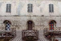 interior of fort boyard in charente maritime