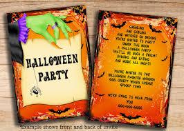 Free Halloween Invitation Templates Microsoft by Free Halloween Invitations Templates Printable U2013 Diabetesmang Info