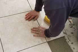 Installing Tile Floor Tile Installation