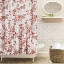 Lush Decor Serena Window Curtain by Lush Decor Gigi Shower Curtain Shower Curtain Rod