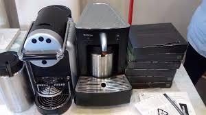 Nespresso Zenius Commercial Coffee Machine Cappuccinatore CS 20 Milk Frother