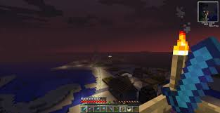 Redstone Lamps That Turn On At Night by Npc Village Custom Built Traditional Houses With Minecart Powered
