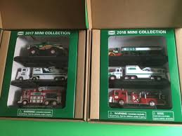 HESS MINI TRUCK Collection 2017 And 2018 One Set Of Each - $139.00 ... 2018 Hess Miniature Truck Set Brand New In Box 3000 Pclick Hess Toy Collection With 1966 Tanker Toys Values And Descriptions 2013 Tractor On Sale Now Just In Time For The Trucks Through Years Newsday The Has Been Around 50 Years 1998 Tanker Truck First In A Series Mib For Sale Nj 1969 Amerada Original Box Near Mint Reveals Mini 2017 Mini Monster Helicopter Emergency 3 News Updates