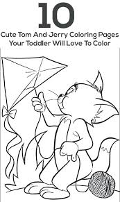 Coloring Pages Print Book Tom Jerry Printable And Games Download Pdf