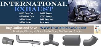 Semi Truck Pipes And Exhaust Systems | Truck Exhaust Pipes Home Intertional Used Trucks 15 Truck Centers Nationwide Navistar 2006 Intertional 7400 Flatbed Truck For Sale 9258 Westrux Lonestar Prostar Cventional In Houston Tx For Sale 4400 On State Of The Art Fully Automated Tank Wash Multi Mode Service 2008 4300 El Sabor Venezolano Food Roaming Hunger