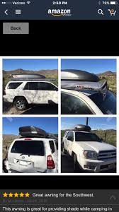 Are Awning On 4th Gen - Stock Roof Rack Install Hardware - Toyota ... Gobi Arb Awning Support Brackets Jeep Wrangler Jk Jku Car Side X Extension Roof Rack Cover Tents Sunseeker 25m 32105 Rhinorack 4wd Shade 25 X 20m Supercheap Auto Foxwing Right Mount 31200 Eeziawn 20 Meter Bag Expedition Portal Bracket For Flush Bars 32123 Sirshade Telescoping System 4door Aev Roof Rack Camping Essentials Youtube 32109 Rhino Vehicle Adventure Ready