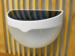 wholesale 6 leds sensor solar powered light outdoor l led wall