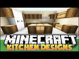 Minecraft Kitchen Ideas Youtube by Minecraft Kitchen Designs Minecraft Kitchen Designs Amp Ideas