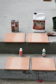 Saltillo Tile Sealer Exterior by Laying Saltillo Terra Cotta Tiles Outdoors Isthisgoodorwhat