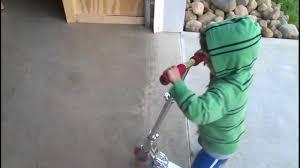Isaiah The 4 Year Old Razor Scooter Phenom