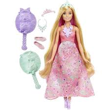 Barbie Dreamtopia Color Stylin Princess Doll Pink Gamestoy