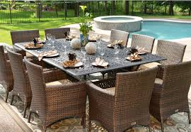 Brilliant All Weather Wicker Patio Furniture Exterior Decor