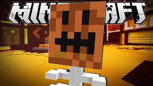 Minecraft Pumpkin Design by Minecraft The Ugly Pumpkin Build Battle Minigame Youtube