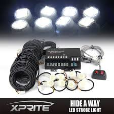 XPRITE 8 LED Bulbs Hide-A-Way Strobe Light Kit Emergency Vehicle ... Led Lighting Strobe Lights For Plow Trucks Buy 4x4 Watt Super Bright Hide Away12v Auto Led Light Kit At Headlightsled Headlight Bulbsjeep Led Headlights 20w Fwire Back Window Kit 600 Truck And Similar Items 2016 Ford F 150 Kit Front 02 Motor Trend Buyers Products Hidden 2pc Set White Cheap Running Board Find Deals On Trucklite 44 Metalized 42 Diode Yellow Round Umbrella Inspirational For Factoryinstalled Fleet F150s Autonation