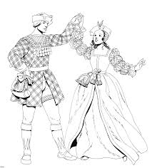 Sexy Costume Coloring Pages