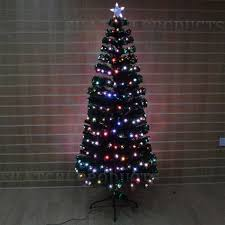5ft Digital Pre Lit Fibre Optic Christmas Tree Xmas Lights Holiday D Coration